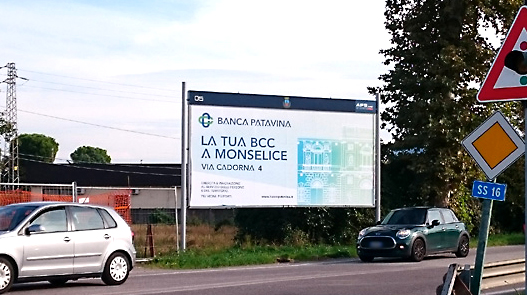CAMPAGNA AFFISSIONI BCC PATAVINA
